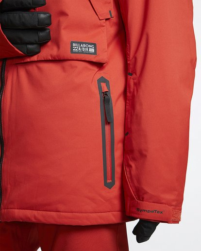 4 Prism Shell Snow Jacket Red MSNJVBPS Billabong