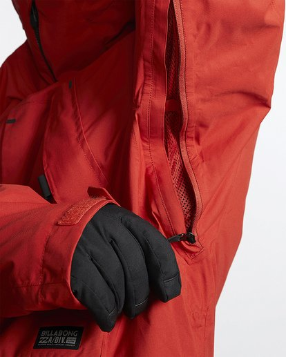 5 Prism Shell Snow Jacket Red MSNJVBPS Billabong