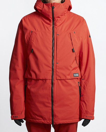 0 Prism Shell Snow Jacket Red MSNJVBPS Billabong