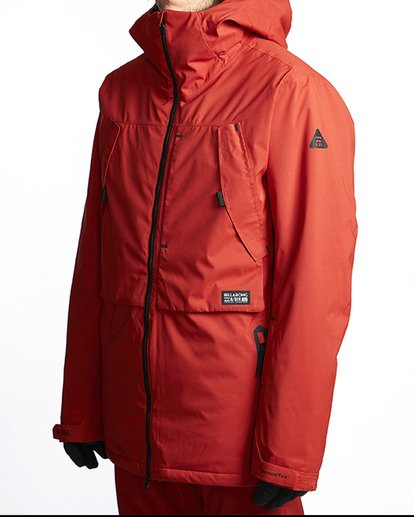 1 Prism Shell Snow Jacket Red MSNJVBPS Billabong