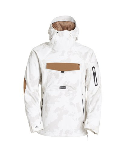 6 Quest Snow Jacket White MSNJVBQT Billabong