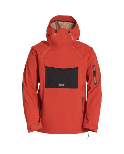 3 Quest Snow Jacket Red MSNJVBQT Billabong