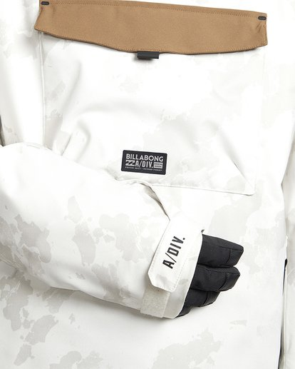 4 Quest Snow Jacket White MSNJVBQT Billabong