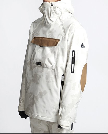 1 Quest Snow Jacket White MSNJVBQT Billabong