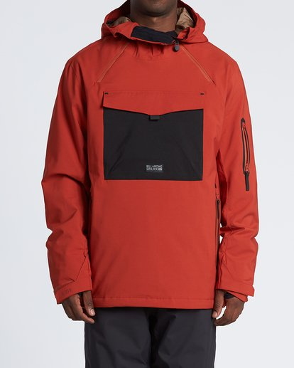 0 Quest Snow Jacket Red MSNJVBQT Billabong