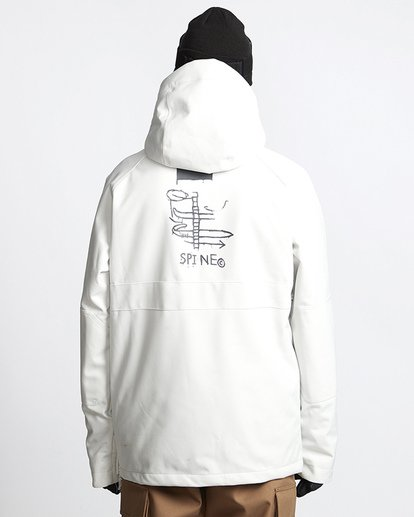 3 Stalefish Snow Anorak Black MSNJVBSA Billabong