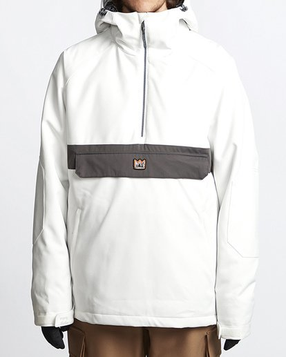 0 Stalefish Snow Anorak Black MSNJVBSA Billabong