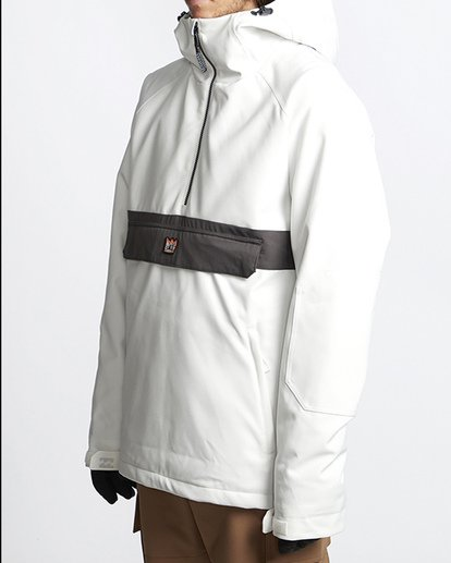1 Stalefish Snow Anorak Black MSNJVBSA Billabong