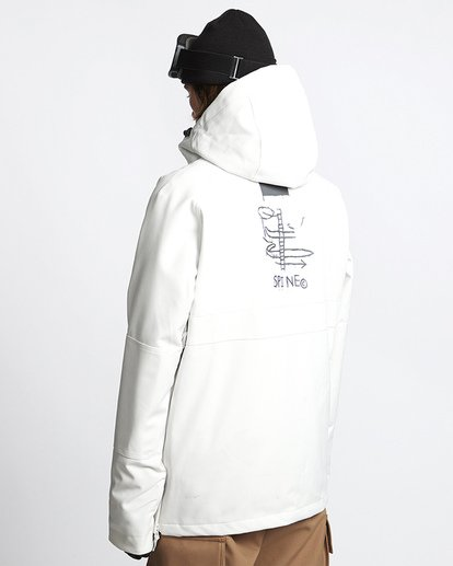 2 Stalefish Snow Anorak Black MSNJVBSA Billabong