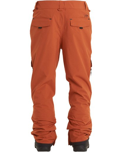 8 Ascent Stx Pant Red MSNP3BAS Billabong