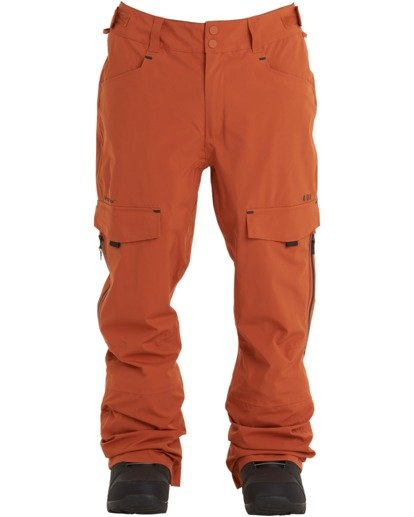 7 Ascent Stx Pant Red MSNP3BAS Billabong