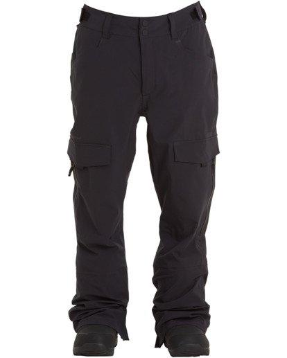 6 Ascent Stx Pant Black MSNP3BAS Billabong