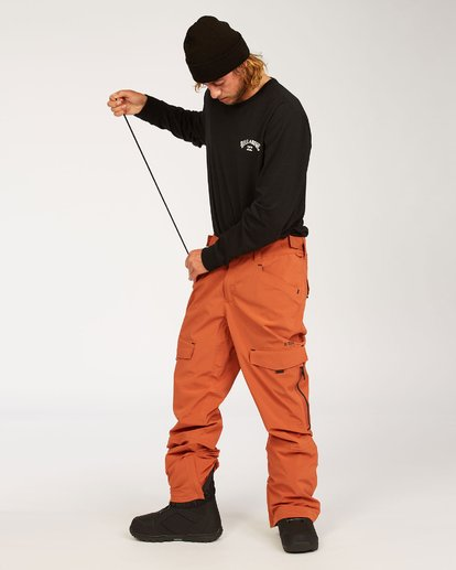 4 Ascent Stx Pant Red MSNP3BAS Billabong