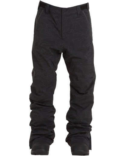 6 Compass Pant Black MSNP3BCO Billabong