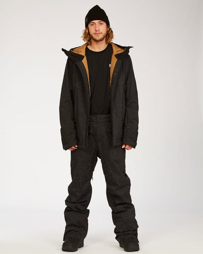 2 Compass Pant Black MSNP3BCO Billabong