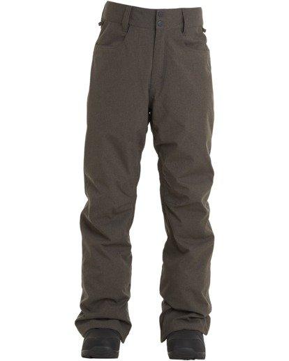 6 Outsider Pant Grey MSNP3BOU Billabong