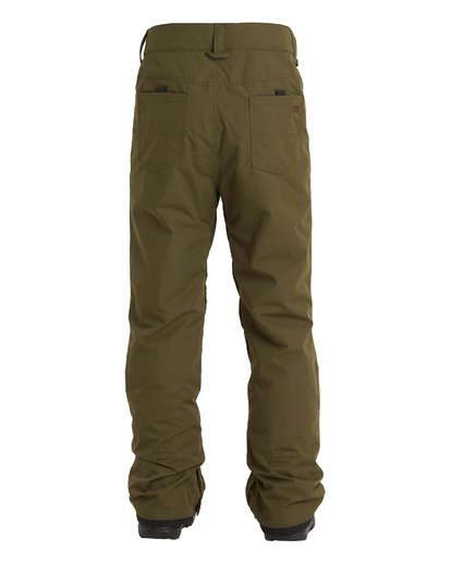 4 Outsider Pant Green MSNP3BOU Billabong