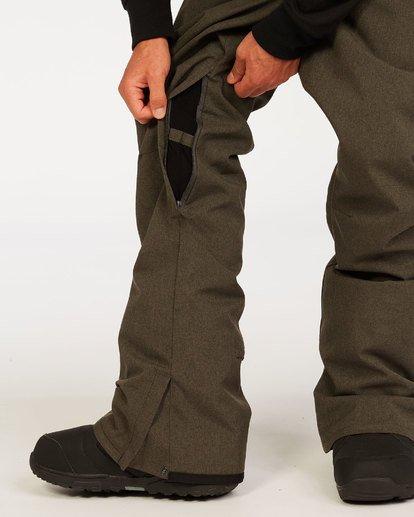 4 Outsider Pant Grey MSNP3BOU Billabong