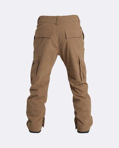 1 Men's Transport Outerwear Snow Pants Yellow MSNPQTRA Billabong