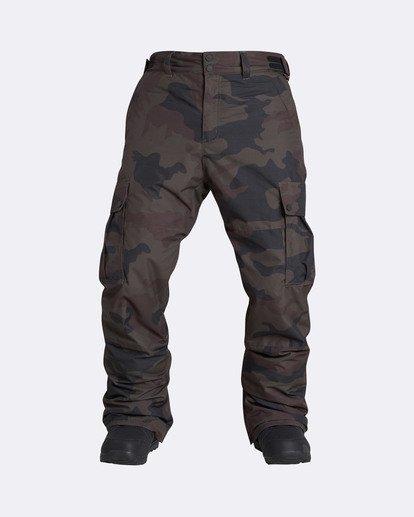 0 Men's Transport Outerwear Snow Pants Green MSNPQTRA Billabong