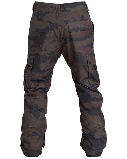 9 Men's Transport Outerwear Snow Pants Green MSNPQTRA Billabong