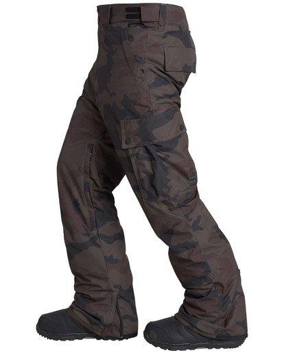 8 Men's Transport Outerwear Snow Pants Green MSNPQTRA Billabong