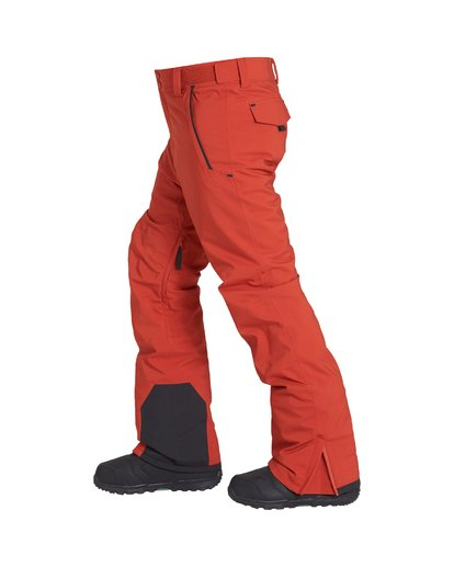 1 Compass Snow Pant Red MSNPVBCO Billabong