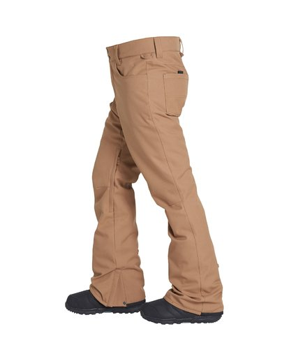 1 Outsider Snow Pant Brown MSNPVBOU Billabong
