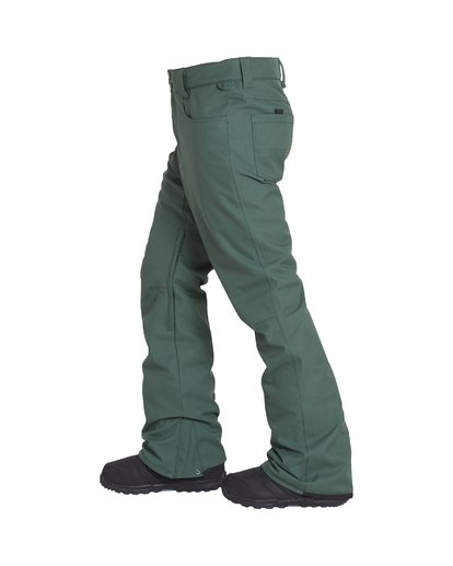 1 Outsider Snow Pant Green MSNPVBOU Billabong