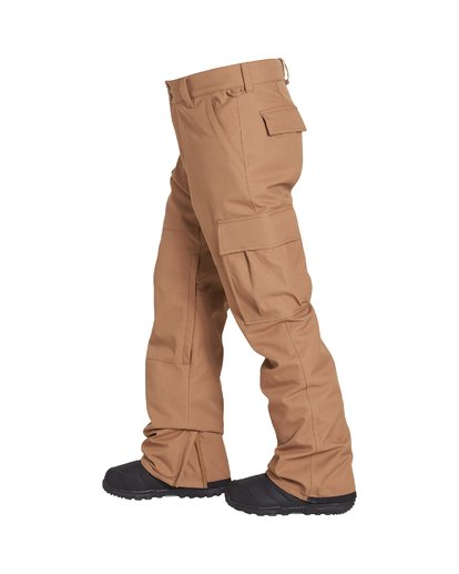 1 Transport Snow Pant Brown MSNPVBTR Billabong