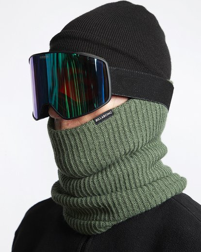 1 All Day Neckwarmer Green MSNWVBAD Billabong