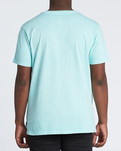 2 Coastline Short Sleeve T-Shirt Grey MT131BCA Billabong