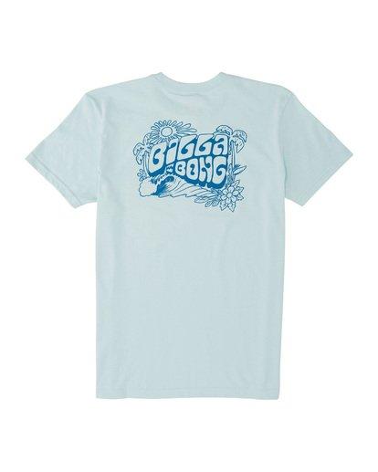 1 Dinger Short Sleeve T-Shirt Blue MT131BDI Billabong