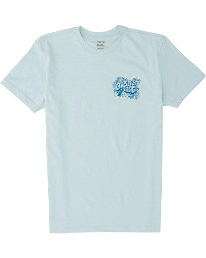 0 Dinger Short Sleeve T-Shirt Blue MT131BDI Billabong
