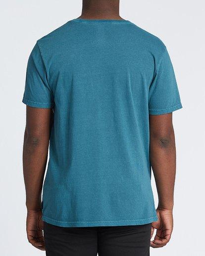 2 Mind Control Short Sleeve T-Shirt Blue MT131BMI Billabong