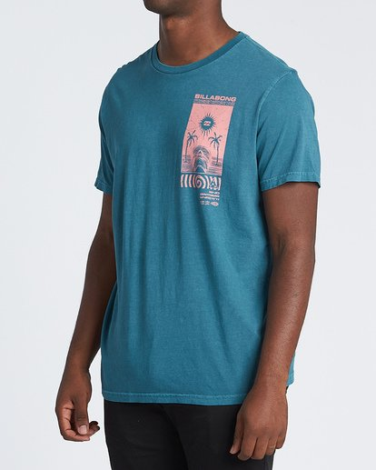 1 Mind Control Short Sleeve T-Shirt Blue MT131BMI Billabong