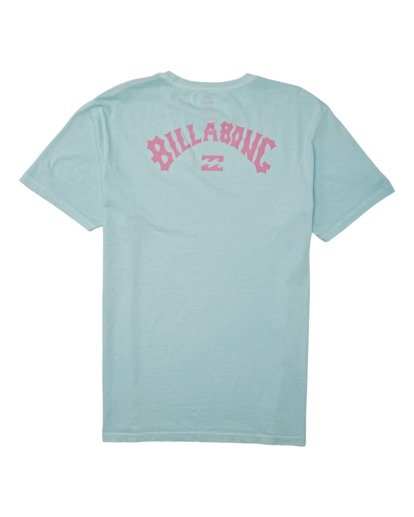 1 Arch Wave Short Sleeve T-Shirt Blue MT132BAW Billabong