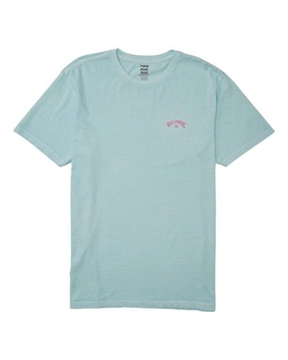 0 Arch Wave Short Sleeve T-Shirt Blue MT132BAW Billabong