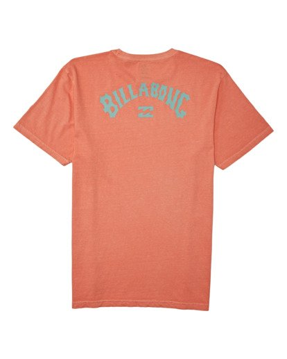 1 Arch Wave Short Sleeve T-Shirt Orange MT132BAW Billabong