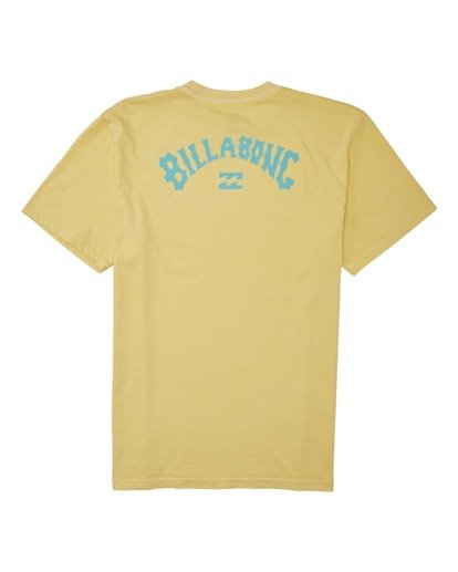 1 Arch Wave Short Sleeve T-Shirt Yellow MT132BAW Billabong