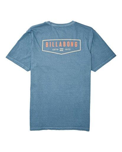 4 General Short Sleeve T-Shirt Grey MT132BGE Billabong