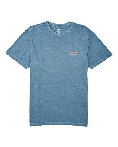 3 General Short Sleeve T-Shirt Grey MT132BGE Billabong