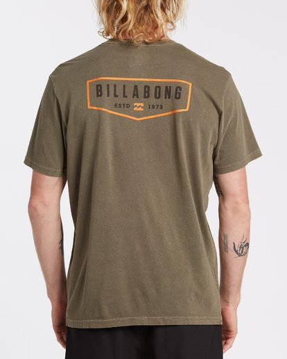 2 General Short Sleeve T-Shirt Green MT132BGE Billabong