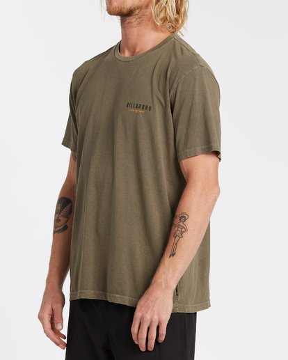 1 General Short Sleeve T-Shirt Green MT132BGE Billabong