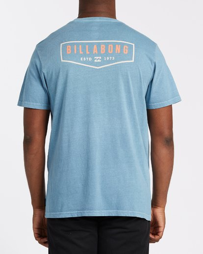 2 General Short Sleeve T-Shirt Grey MT132BGE Billabong