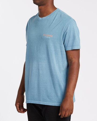 1 General Short Sleeve T-Shirt Grey MT132BGE Billabong