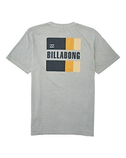 4 Prism Short Sleeve T-Shirt Grey MT132BPR Billabong