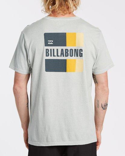 2 Prism Short Sleeve T-Shirt Grey MT132BPR Billabong