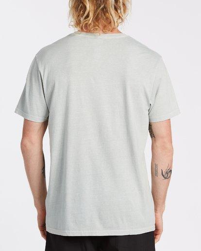 2 Spray Short Sleeve T-Shirt Grey MT132BSP Billabong