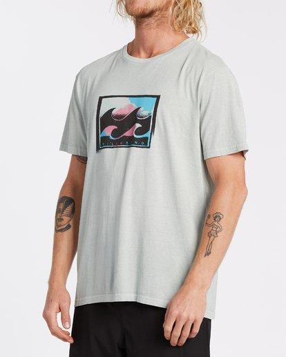 1 Spray Short Sleeve T-Shirt Grey MT132BSP Billabong
